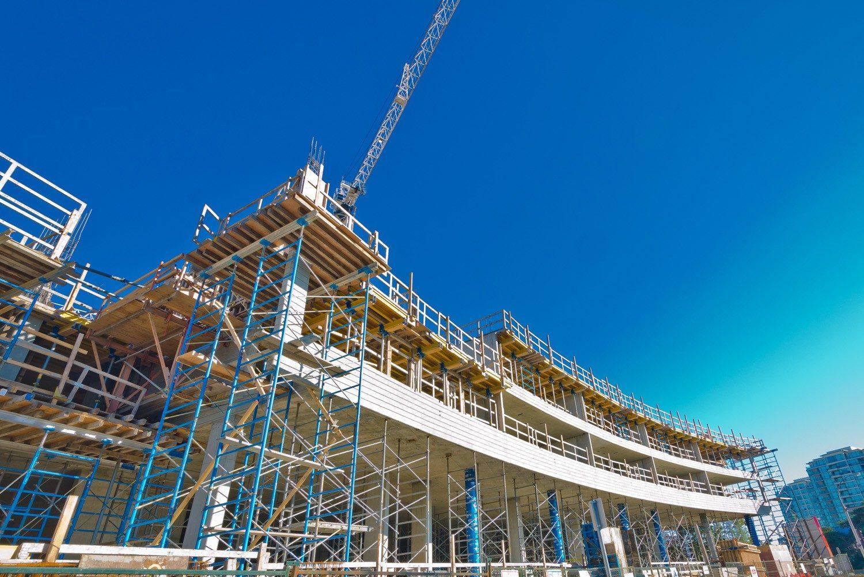 costruzione edificio cantiere