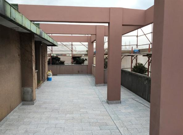 terrazzo ristrutturato ediltortora